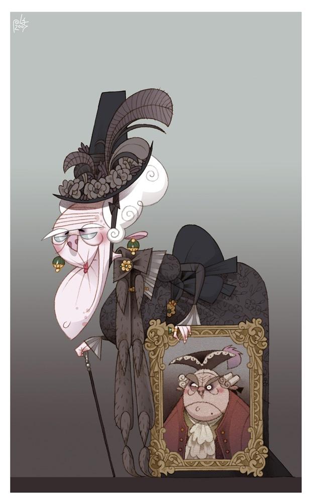 Cartoon Character Design Inspiration : Best images about grandparent illustration inspiration