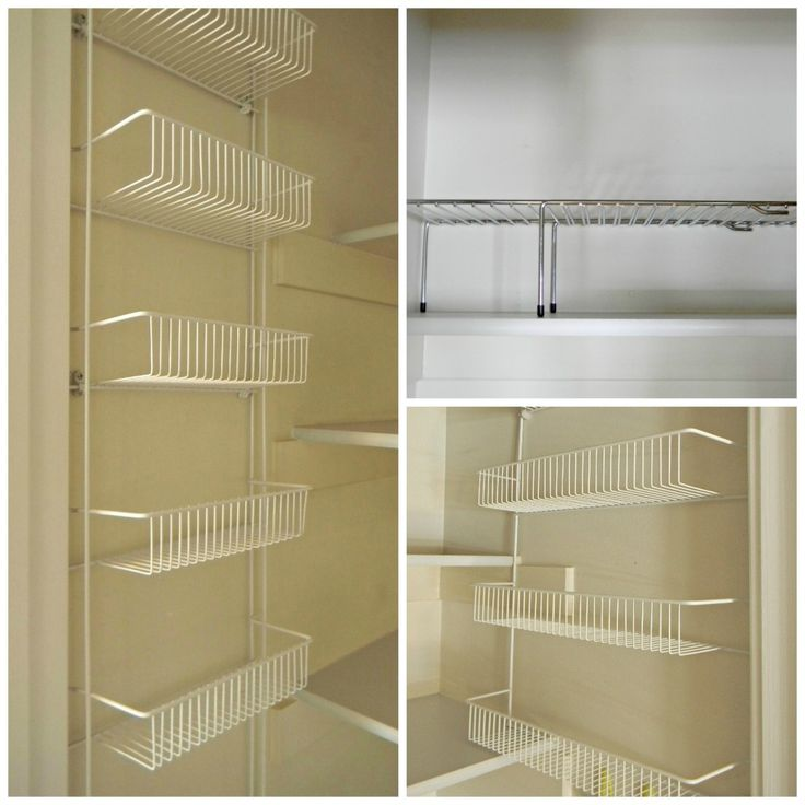 Shelving Ideas For Pantry Corner Pantry Shelving Systems: 12 Best Wire Closet Shelving Images On Pinterest