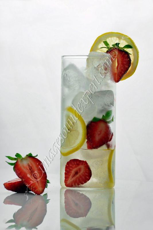 limonada si capsuni,
