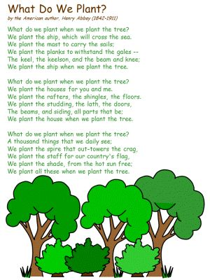 poem by the american author henry abbey 1842 1911