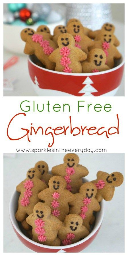 Easy and delicious Gluten Free Gingerbread!!