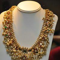Traditional Guttapusalu Gold Necklace