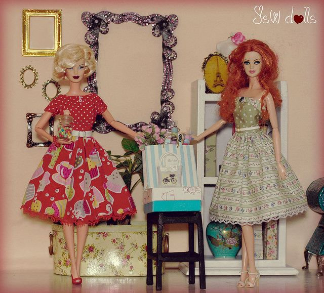 Tea party | Dresses by Dollydolls | JSW DOLLS | Flickr