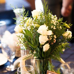 Pine Wedding Decorations + Accents