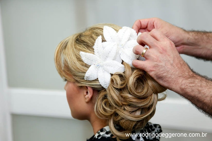 Bride hair :) Love it