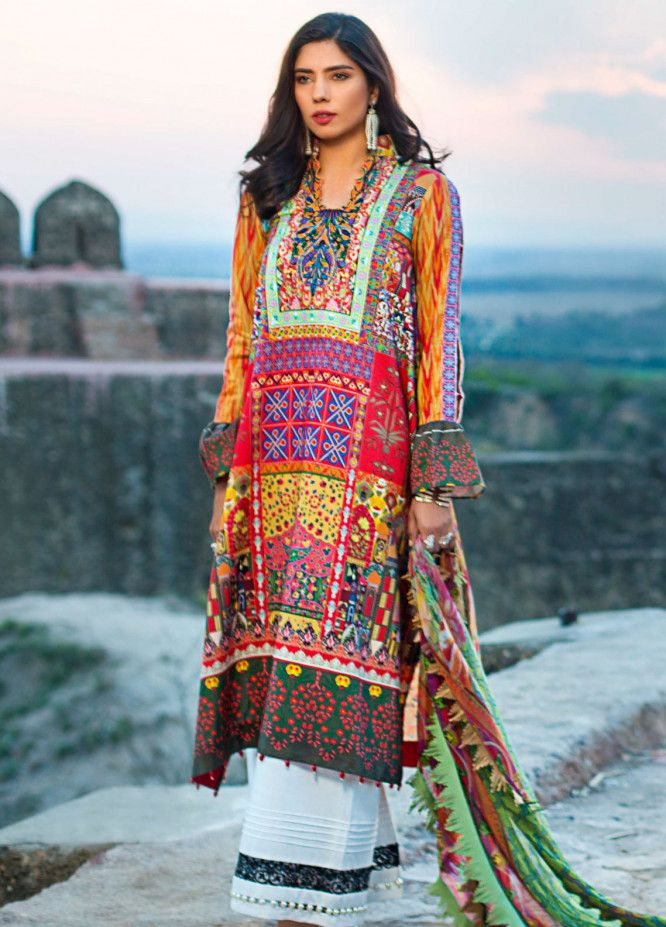 c31c04d7f4 Maheen Karim Luxury Lawn 2019 Spring/Summer Collection | Maheen … | Maheen  Karim by ZS Textiles Unstitched Lawn 3 Piece Women Collection with  Discounts in ...