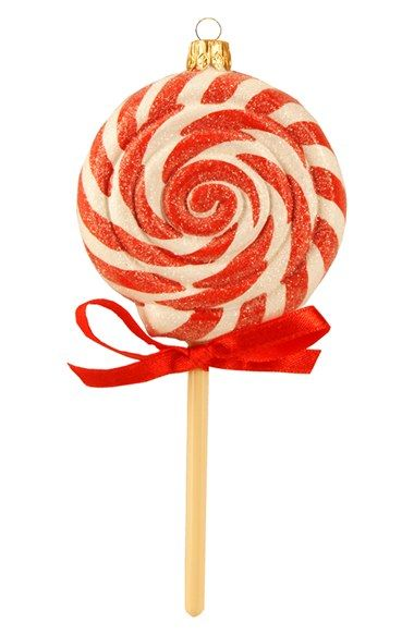 Nordstrom at Home Handblown Glass Lollipop Ornament available at #Nordstrom