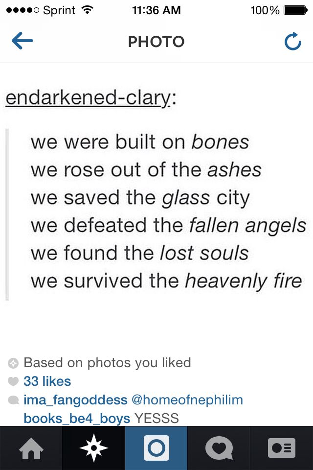 WE ARE SHADOWHUNTERS. Although I barley survived City Of Heavenly Fire