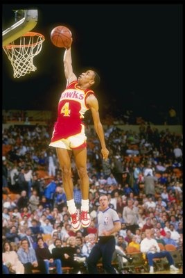 Spud Webb. How did he do this at 5'7''?