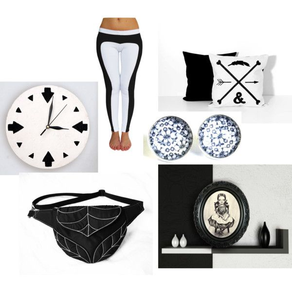 """""""black&white"""" by ancyshop on Polyvore"""