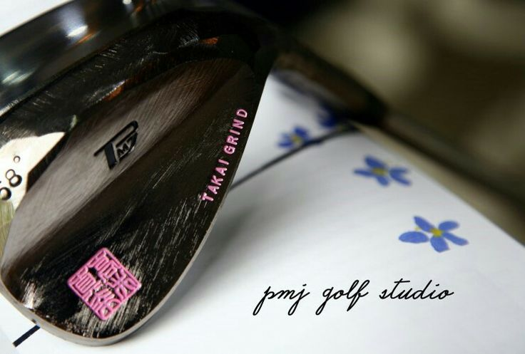 Itobori wedge Pink stamp PMJ GOLF STUDIO