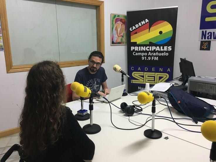 A las 13:20 podéis escucharme en directo en Cadena Ser Navalmoral junto a Carlos Utrilla. Muy pronto estará disponible en mi cuenta de Ivoox ☺️