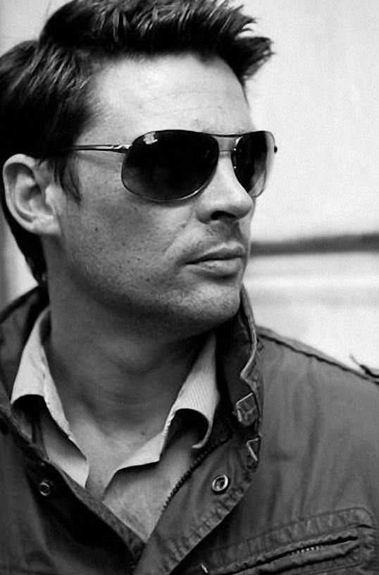 I love him in sunglasses
