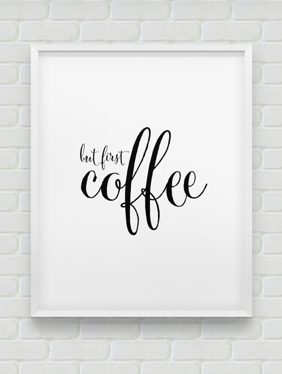 17 best ideas about printable kitchen prints on pinterest for Tea and coffee wall art