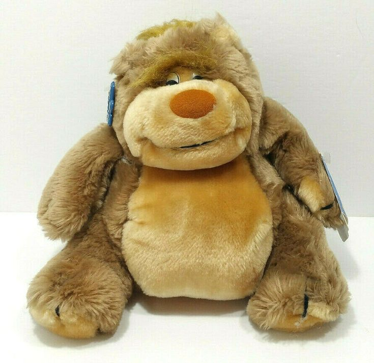 Applause 1988 Vintage Egbert Brown Teddy Bear Plush Toy