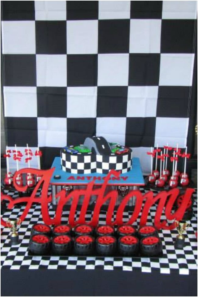 54 best hanks nascar party images on pinterest cars birthday race car birthday party dessert table spaceshipsandlaserbeams filmwisefo Choice Image