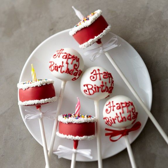 Sweet Lauren Cakes Birthday Cake Pops