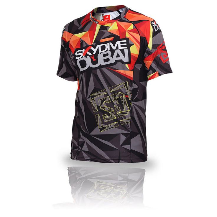 Skydive Dubai Men's Jersey, for wholesale Jersey's checkout http://www.manufactorys2s.com/#welcome #fromsketchestostitches #ManufactoryS2S #skydive #jerseys #teamapparel