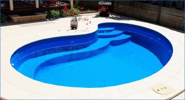 small inground pools for small yards | Fibreglass Swimming Pools - Miami Pool Range - Quality Harvest Pools ...