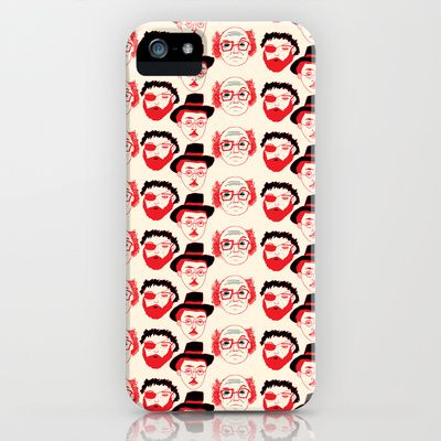 Portuguese Writers iPhone & iPod Case by dua2por3 - $35.00