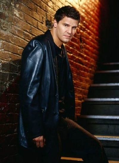 "David Boreanaz as Angel from ""Buffy the Vampire Slayer"" and ""Angel"""