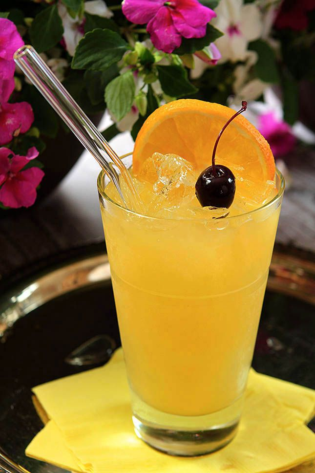 Black-Eyed Susan Cocktail from The Preakness | Creative Culinary | A Denver Colorado Food and Cocktail Blog with Recipes.