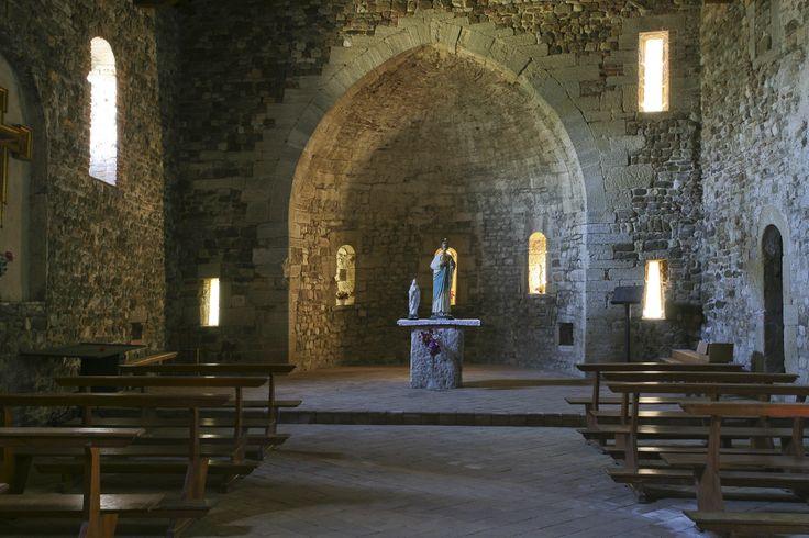 la Pieve. Romanesque church.