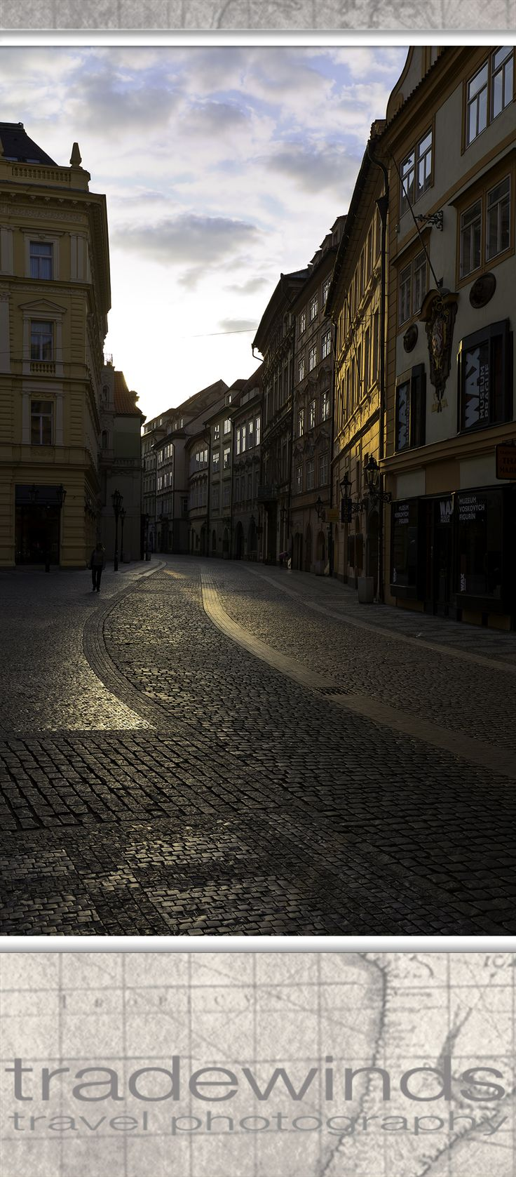 Morning in old town Prague