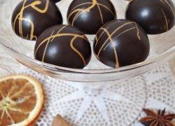 Narancsos-mézeskalácsos bonbon