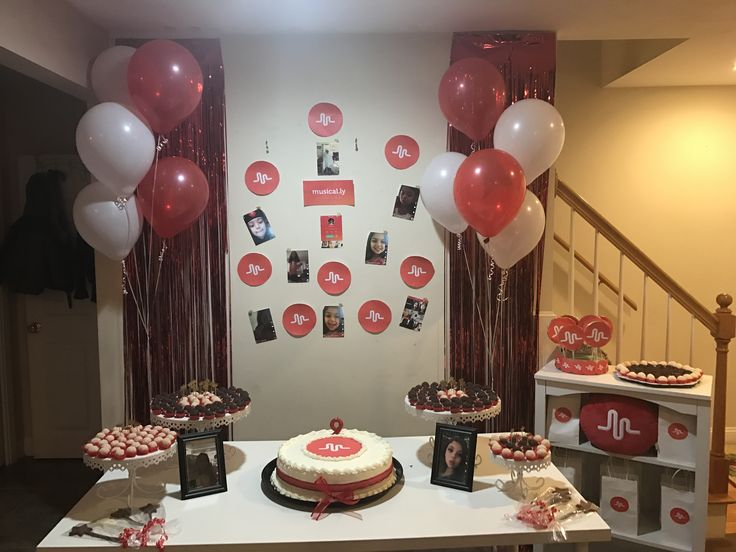 Musical.ly Birthday Party
