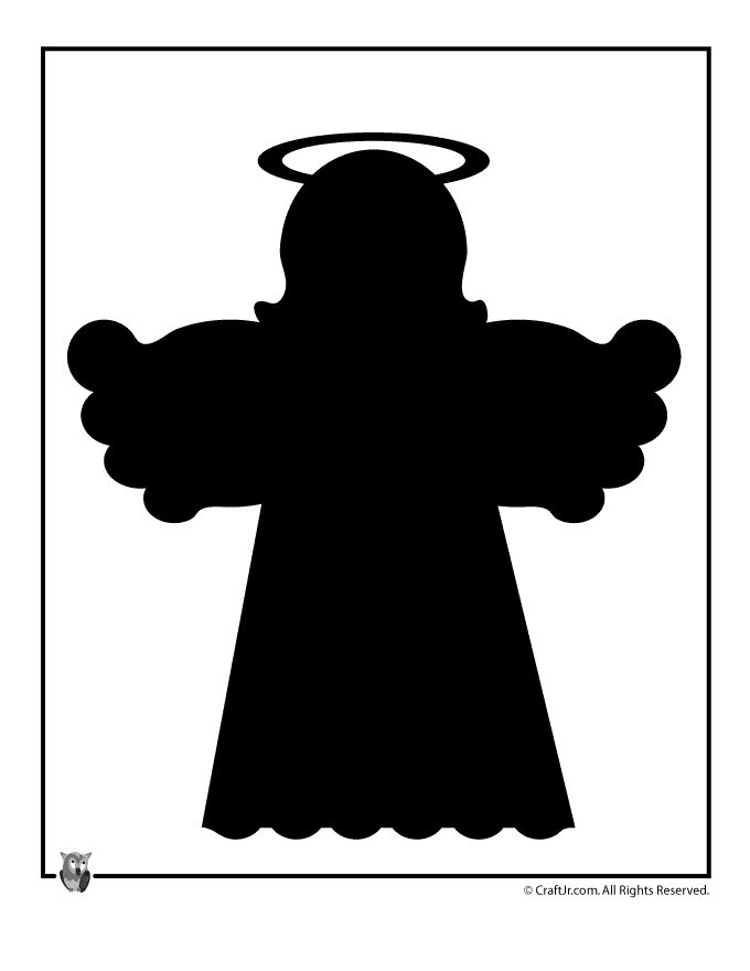 christmas angels silhouette 17 best ideas about christmas templates on pinterest 8301