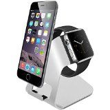 Charging Stand for Apple Watch & iPhone, Aluminum Made Docking Station