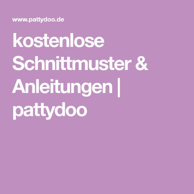 kostenlose Schnittmuster & Anleitungen | pattydoo