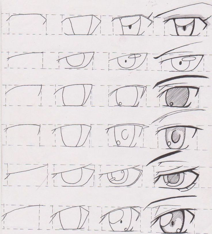 Manga Tutorial Male Eyes 01 By On DeviantArt