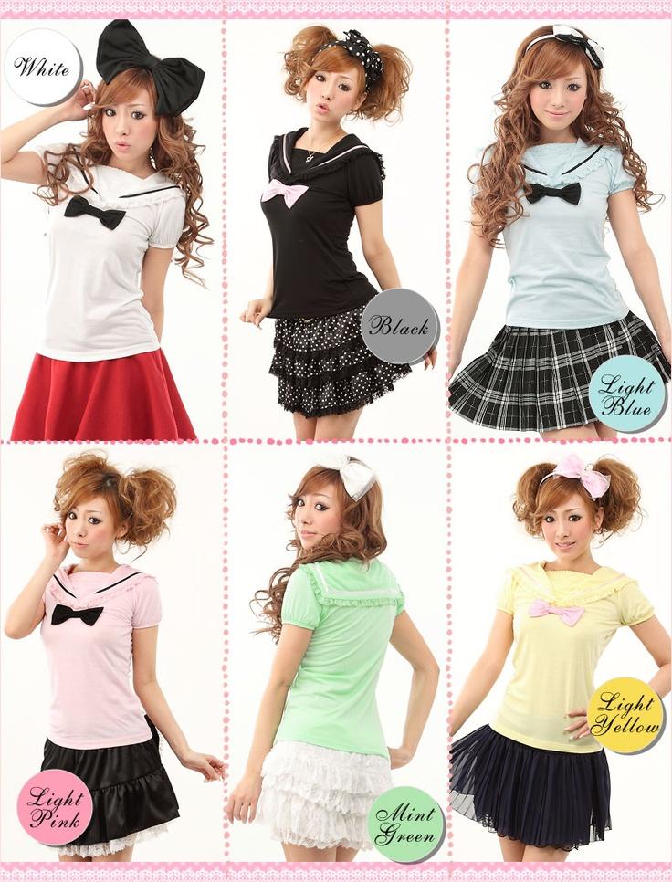 sailor cute tops *o*