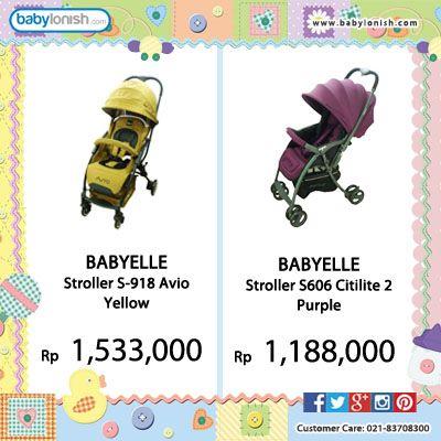 Dapatkan berbagai perlengkapan bayi yang sesuai dengan kebutuhan Anda hanya di babylonish  Gratis ongkir Jabodetabek. Customer care 021 8370 8300