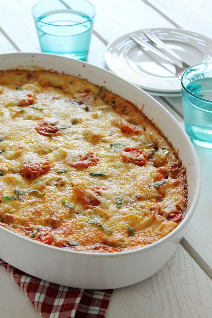 The one with all the tastes | Πίτσα με κιμά στο πυρέξ