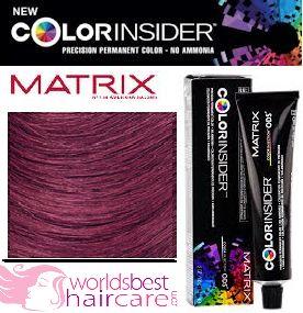 Matrix Color Insider Medium Brown 5vr Violet Red Hair