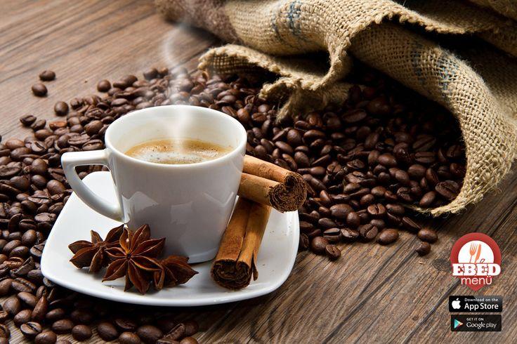 Egy jó nap finom kávéval kezdődik és még finomabb ebéddel folytatódik! #ebedmenu