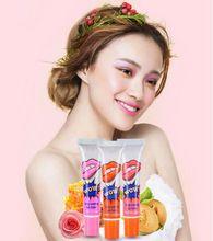 Nova marca Lip Gloss Fosco À Prova D' Água Cores Máscara Casca Pacote Matiz Maquiagem de Longa Duração Lábios Para As Mulheres Meninas alishoppbrasil