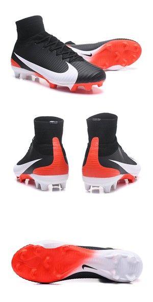 c6eb92b95 Nike Men Mercurial Superfly 5 FG ACC Boots Black White