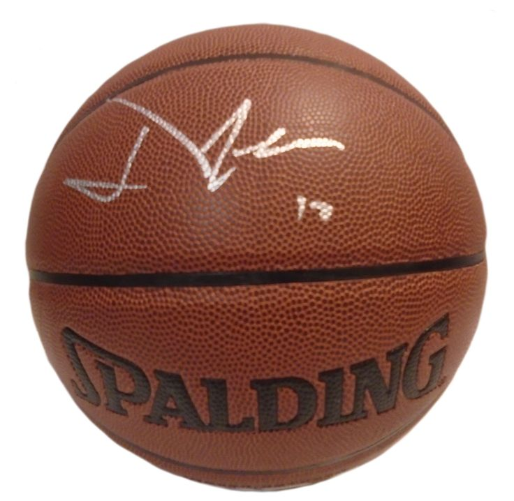 David Lee Autographed Spalding NBA Indoor / Outdoor Basketball, Proof Photo. David Lee Signed NBA I/OBasketball, San Antonio Spurs, Golden State Warriors, New York Knicks, Dallas Mavericks, Proof  This is a brand-new David Leeautographed NBA Spalding indoor/outdoor basketball.Davidsigned the basketballin silver paint pen.Check out the photo of Davidsigning for us. ** Proof photo is included for free with purchase. Please click on images to enlarge. Please browse our websitefor…