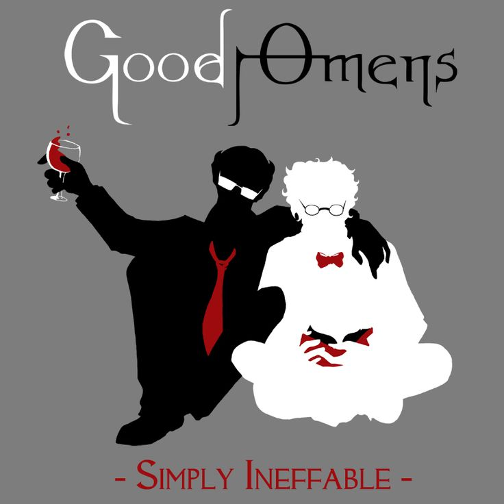 Good Omens - Simply Ineffable by ~Talianora on deviantART