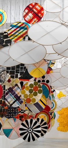 Hashimoto's work is a fantastic inspiration for students and a great idea for a collaborative project.