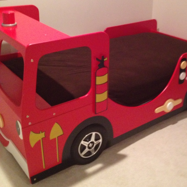 Fire truck bed kids room ideas pinterest - Ikea fire truck bed ...
