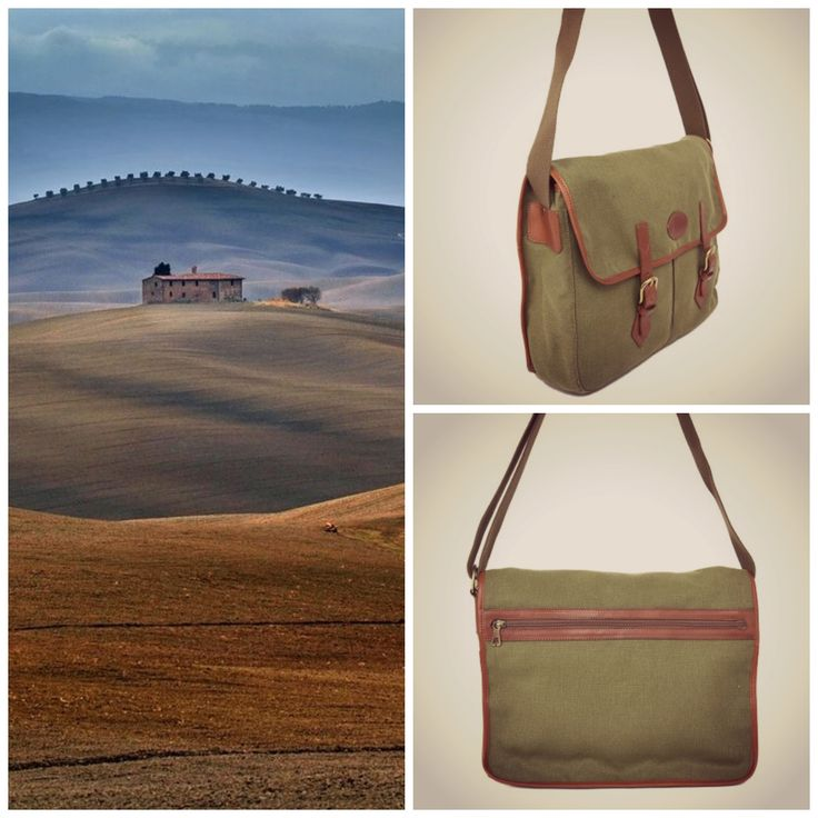 Details and colors from Tuscany Adam by Ci-Va Classic #postman #bag made of cordura fabric and natural #leather www.tuscanleatherdistrict.it