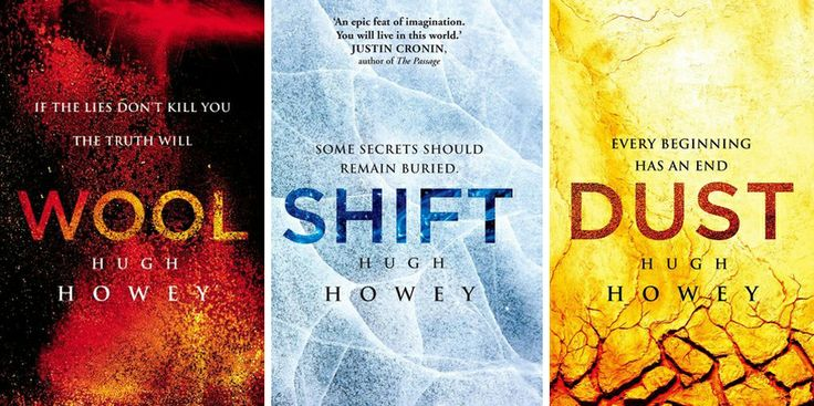 Silo Series by Hugh Howey - Shift was a bit slow, but the series as a whole makes it worth reading :)