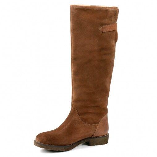 Warme suède laarzen - beige // laarzen // SACHA