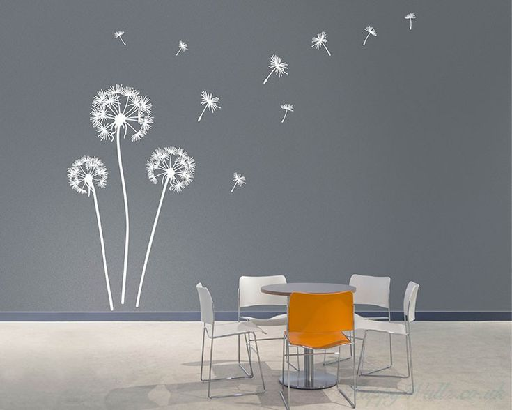 Dandelion Wall Art Decals   Wall StickersFree Delivery And Buy 2 Get One  FREE Wall Sticker Now! Dandelion Wall Art Decals   Wall Stickers   This Wall  Decal ...