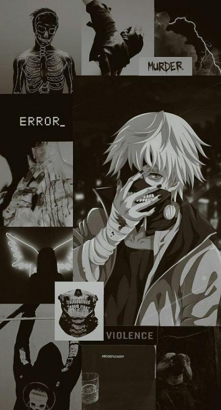 Super anime aesthetic wallpaper black 50+ Ideas